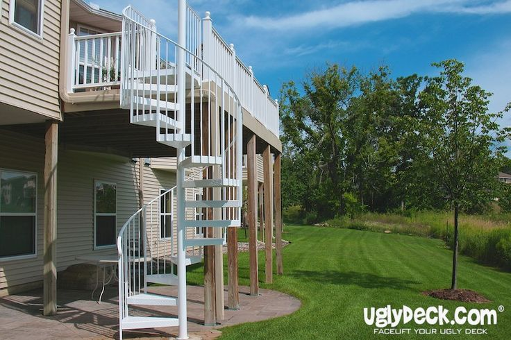 Find Out How To Add A Stunning Spiral Deck Staircase To Your Outdoor Living  Space.
