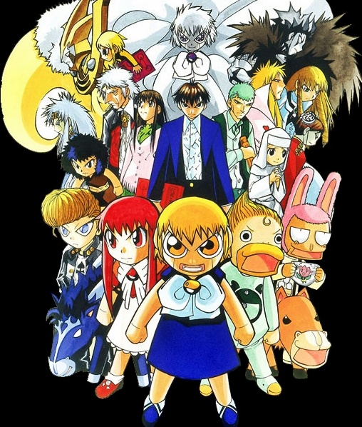 Zatch Bell!! The ultimate show of feels. D':