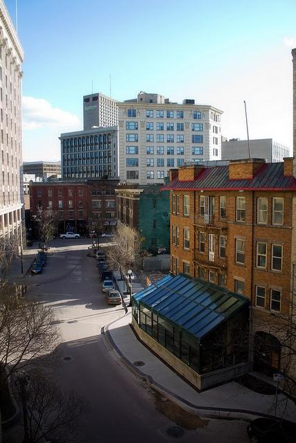 Albert Street, Winnipeg by ajbatac, via Flickr