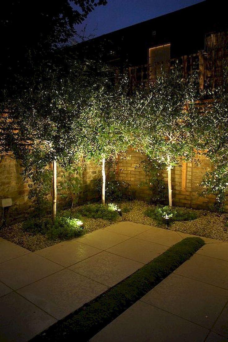 Amazing Garden Lighting Design Ideas And Remodel 24 33 Inspiring Garden Lighting Desi Diy Outdoor Lighting Solar Landscape Lighting Outdoor Landscape Lighting