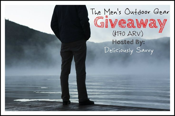 Sign up for the Men's Outdoor Gear Blogger Opp.
