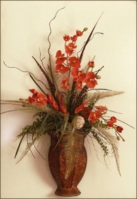 Decorative Wall Sconces For Plants : 48 best images about sconces on Pinterest Feathers, Grasses and Floral wall