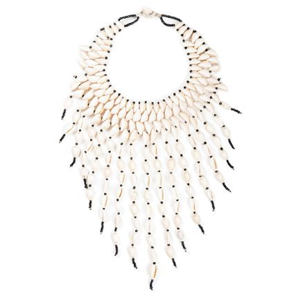 Cowry Shell Statement Necklace