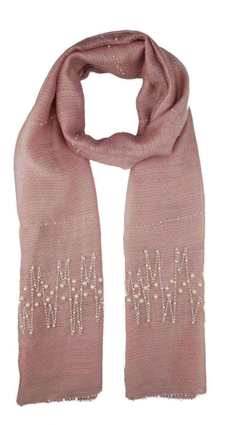 Oversized Merino Wool Scarf - Arch Detail by VIDA VIDA bspGfv5
