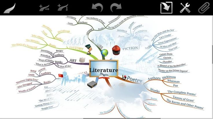 iMindMap - screenshot