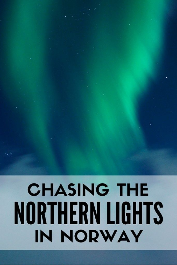 Some day! Chasing the Northern Lights in Northern Norway