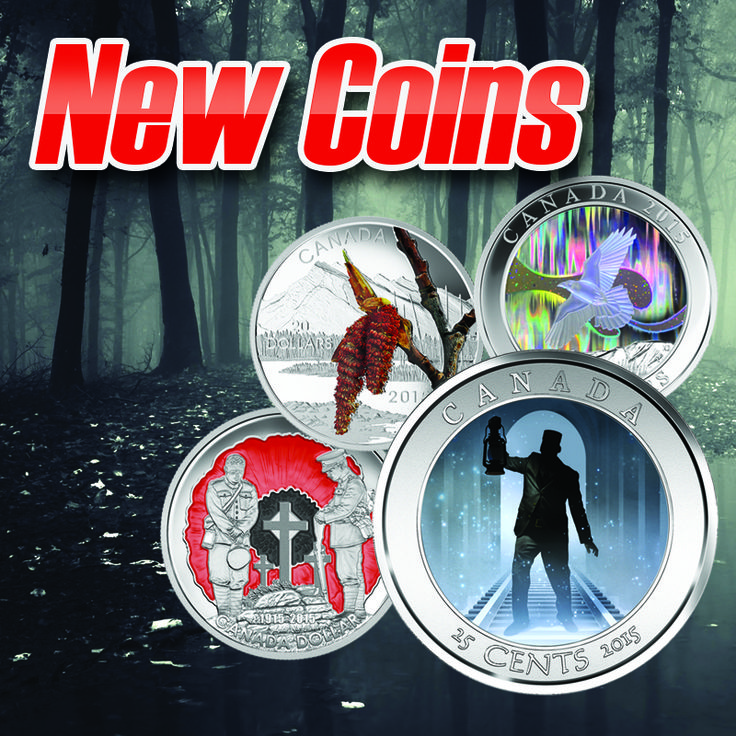 Check out the newest launch of coins from the Royal Canadian mint!