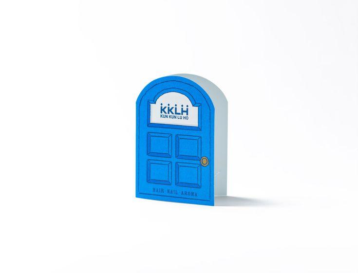 京都のヘアサロン「KKLH(クンクンルーホー)」のショップカード、プロフィールカードを作成しました。 2014 http://www.kklh.jp...