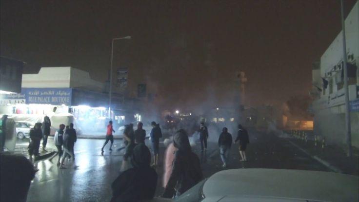 """قمع مسيرة """"شموع الحرية"""" وفاءً للشهيد محمد سهوان - جزيرة سترة 20/3/2017 B..."""