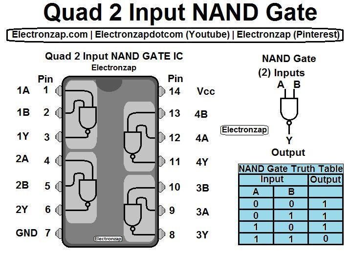 best 25 nand gate ideas on pinterest electronic. Black Bedroom Furniture Sets. Home Design Ideas