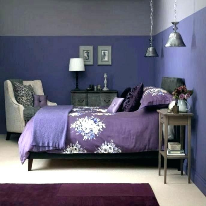 Abstract Lilac And Purple Bedroom Grey Decorating Ideas Dark Paint