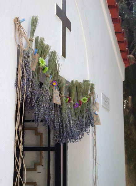 ::Lavender garland