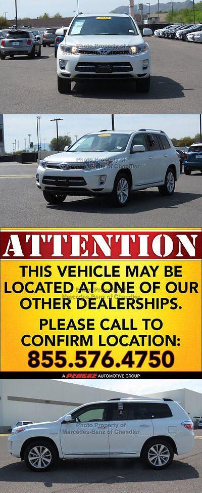 SUVs: 2013 Toyota Highlander 4Wd 4Dr Limited 4Wd 4Dr Limited Suv Cvt 3.5L V6 Cyl Blizzard Pearl -> BUY IT NOW ONLY: $31189.0 on eBay!