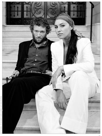 Monica Bellucci & Vincent Cassel                                                                                                                                                                                 More