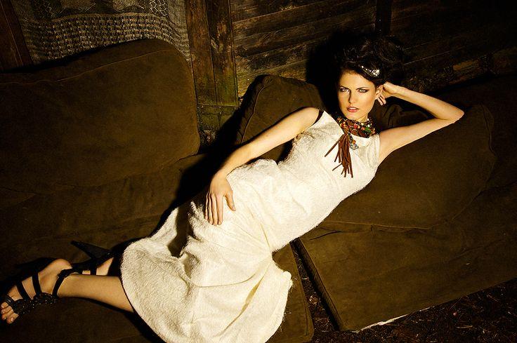 Ewa Morka wedding dress /  photo: Michal Greg