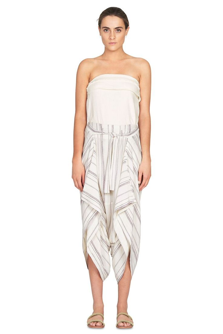 Camilla And Marc - Honey White Pant Off White