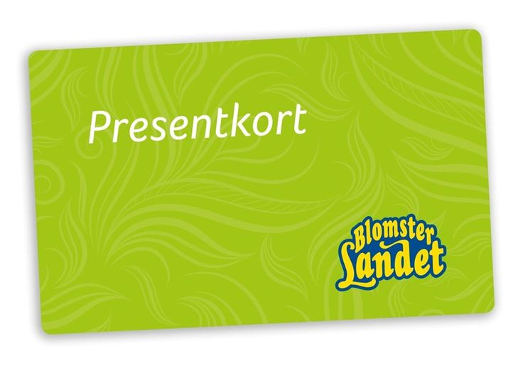 Blomsterlandet Presentkort