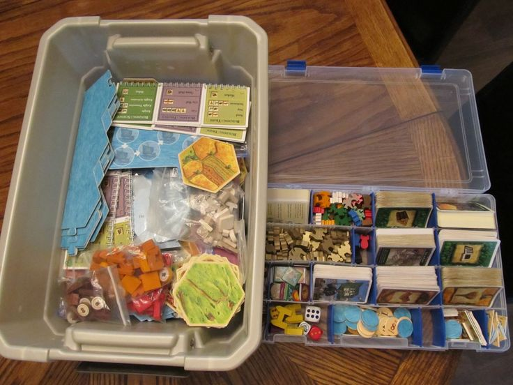1000 images about board game storage solutions on for Board game storage solutions