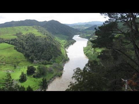 New Zealand river gets legal status of a person - YouTube