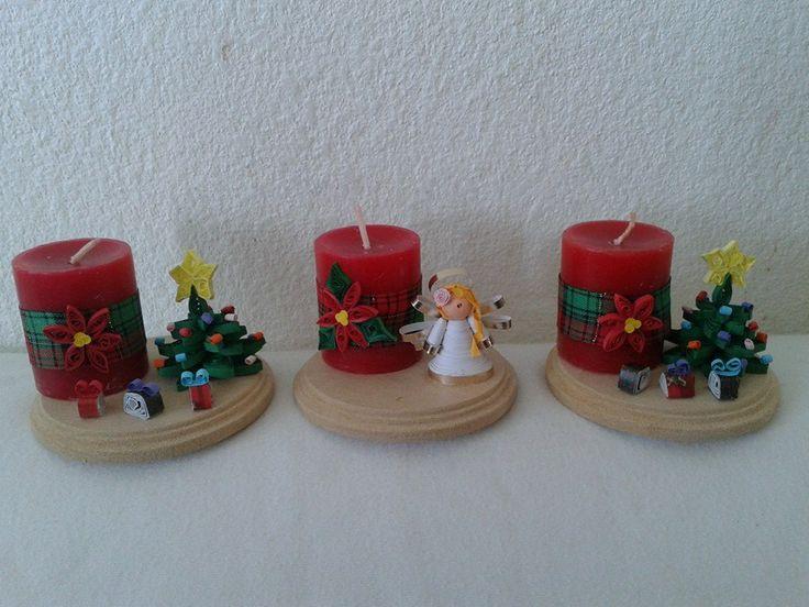 velas navideñas by creaciones patrix