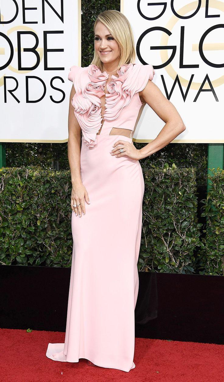 Кэрри Андервуд на церемонии вручения наград премии «Золотой глобус» в Лос-Анджелесе, 08 января 2017 г.