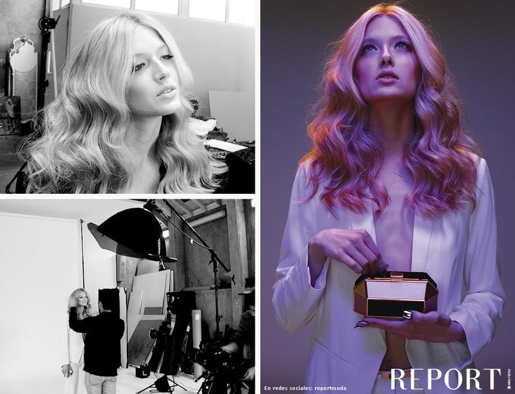 Backstage moda WONDER WHITE - REPORT! Nº4 'Moda Verano 2013'