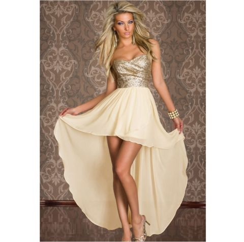 Big girls summer_autumn strapless gown  S-3XL