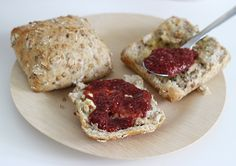 confiture-fraise-sans-sucre  / graines de chia