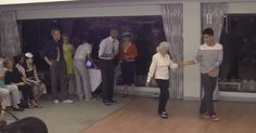 As we get older, we generally get a little less able in the physical department. But that can't be said for this 90-year-old lady, who moves better than some people half her age. When Jean Veloz celebrated her 90th birthday she couldn't resist a dance, but what she didn't expect was everyone at the party …