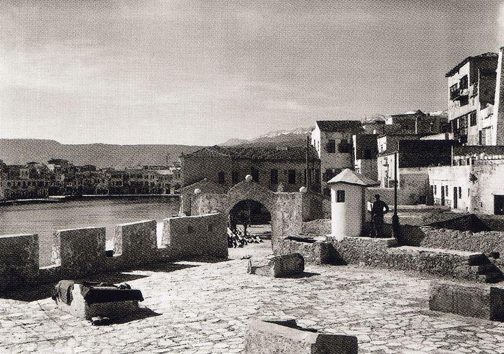 Χανιά - Το φρούριο του Φίρκα, 1911
