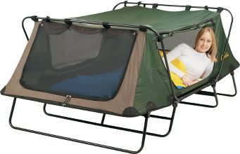 Perfect. Invariably my tents always get soaked on the bottom when it rains.