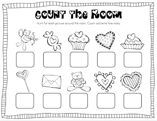 Mrs. Ricca's Kindergarten: February Centers + FREEBIE!