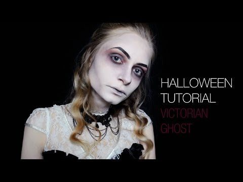 Halloween Makeup Tutorial | Victorian Ghost | Dead Widow | Gothic | Pip Makeup - YouTube