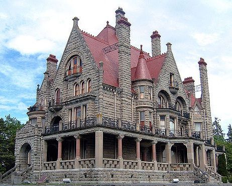 victorian made of stone