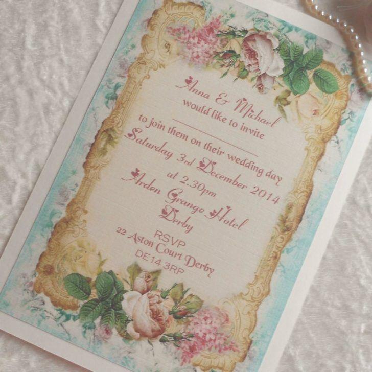 122 best Wedding Invitations images on Pinterest | Bridal ...
