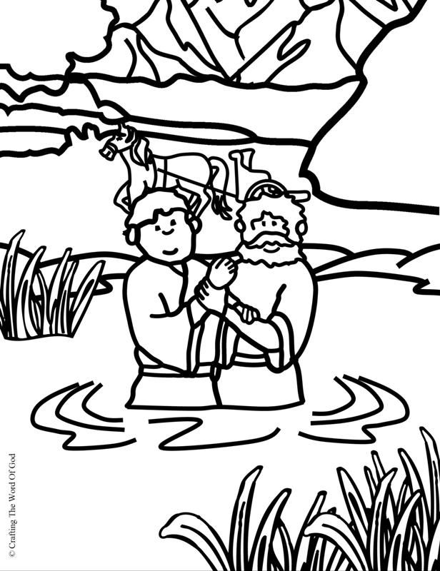 coloring pages about acts 8 - photo#14