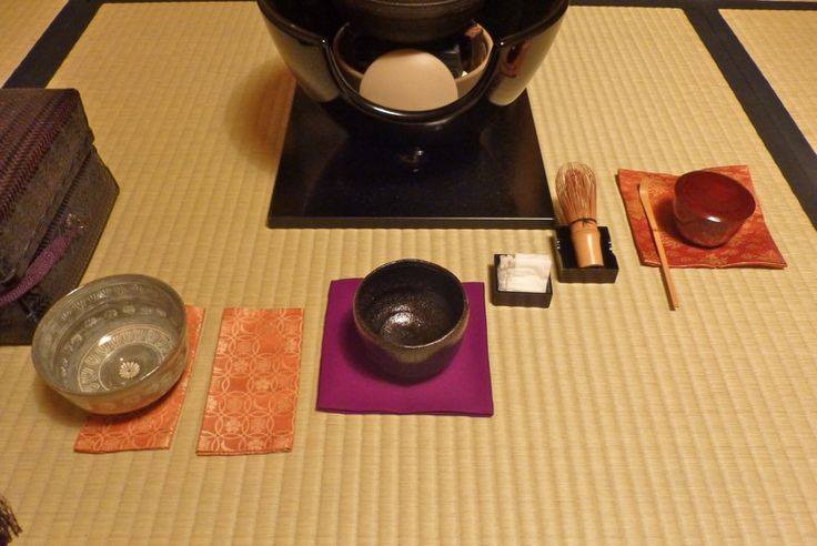 shikishidate procedure, making first bowl of tea