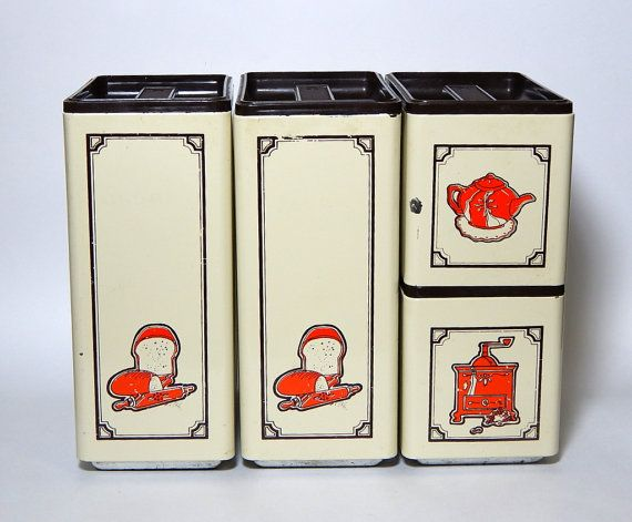 vintage retro kitchen canisters 1000 ideas about kitchen canisters on vintage 22597