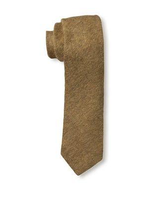 54% OFF Gitman Men's Herringbone Tie, Brown