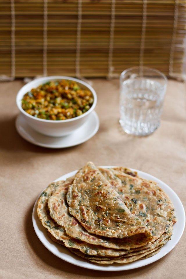 methi paratha recipe, how to make methi paratha   fenugreek paratha
