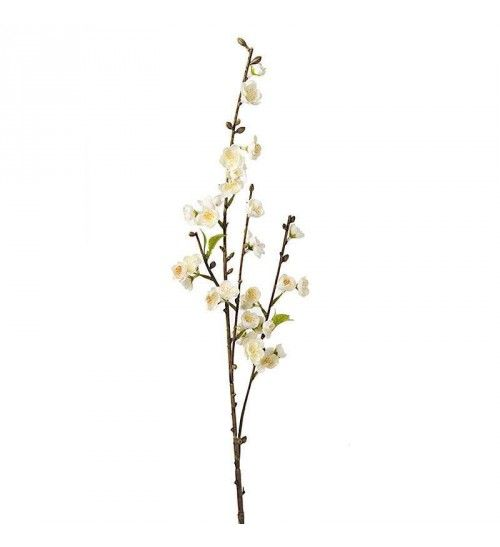 BRANCH_FLOWER FABRIC IN CREAM COLOR Η-76