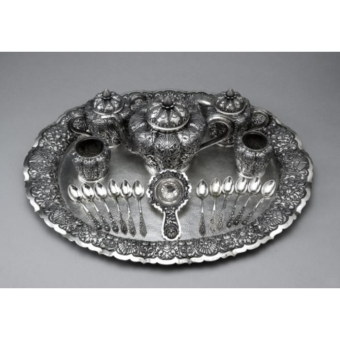 Indonesian Tea Service Set - Asian Art Museum Online Collection