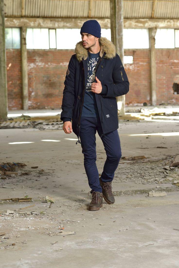 Splendid Men's jackets Autumn Winter 2015-2016. More at www.biston.gr