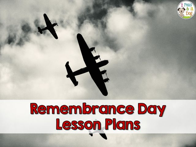 Remembrance Day lesson plans for the intermediate or middle school classroom.