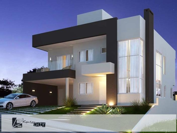 Oportunidade unica casa de condominio para venda com 450 m for Fotos fachadas casas modernas minimalistas