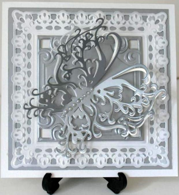 Large Tattered Lace Butterfly Die