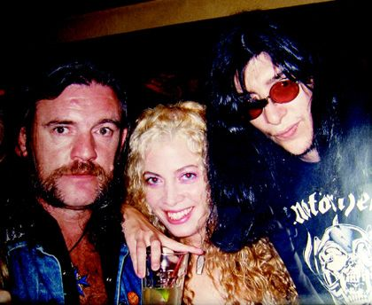 Lemmy, Sean of White Zombie, and Joey...perfect combination...