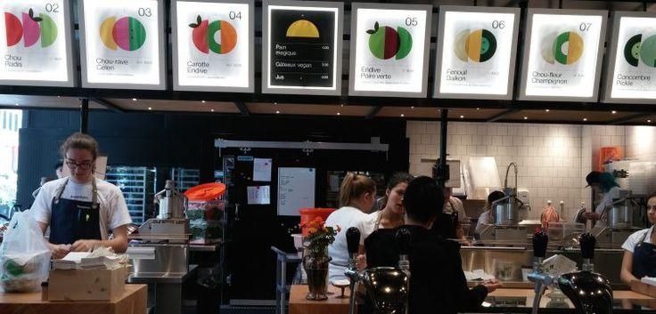 Les tuyaux bouffe du jour: la salade d'endive et de poire verte du nouveau Foodchain (1212 Avenue McGill College, Montréal) et les rigatonis à la viande du nouveau Il Miglio (5235 Boul St-Laurent,…