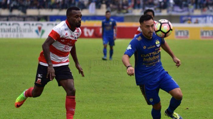 Persib Bandung Perpanjang Rekor Imbang Usai Bermain Tanpa Gol Lawan Madura United