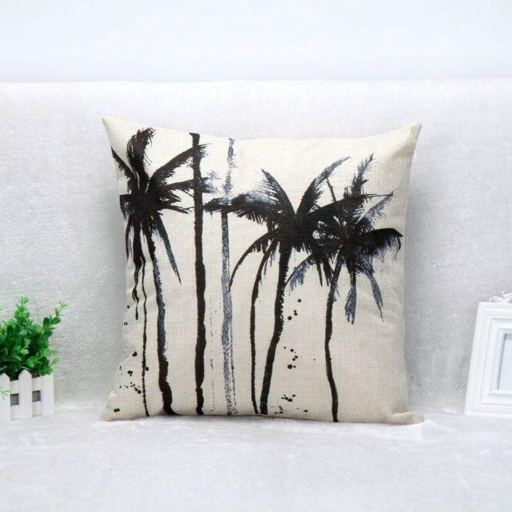 Linen Pillow Case Covers